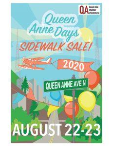 AUGUST 22-23 UPTOWN & UPPER QUEEN ANNE SIDEWALK SALE