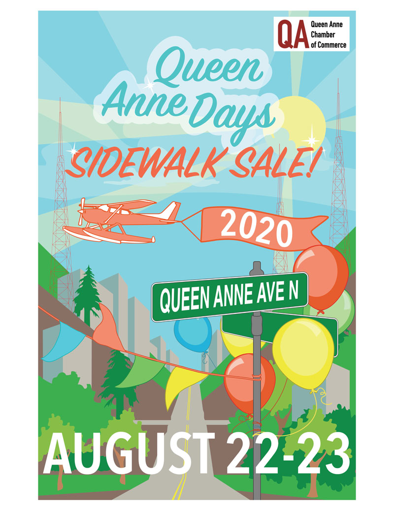 You are currently viewing AUGUST 22-23 UPTOWN & UPPER QUEEN ANNE SIDEWALK SALE